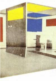 G. Rietveld & V. Huszar: Space-Colour-Composition (1923)